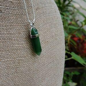 NEW Jade Healing Stone Necklace